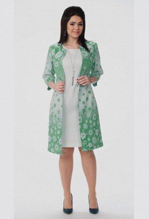 Комплект Amelia Lux 0300 зеленый цветы