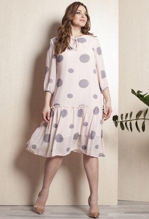 Платье Elletto 1689 розовый