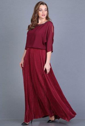 Платье Anastasia Mak 656 бордо