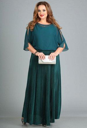 Платье Anastasia Mak 656 зеленый