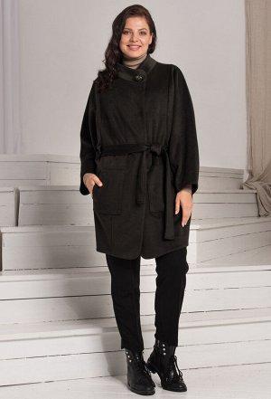 Пальто Amelia Lux 3525 черный