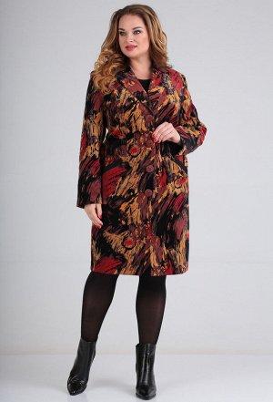 Пальто Lady Line 486 разводы