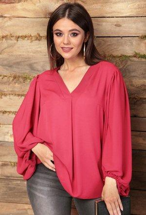 Блуза Anastasia 512 бордово-розовый