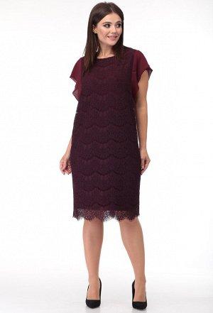 Платье Anastasia Mak 748 бордо