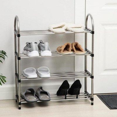 Все по местам. Системы хранения для дома — Полки и этажерки для обуви — Системы хранения