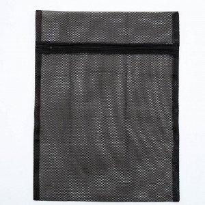 Мешок для стирки белья, 40?50 см, цвет чёрный
