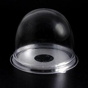 Контейнер круглый для пирожного 90*80 мм, пластик