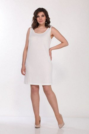 Платье, туника Lady Style Classic 1566/8 темно-синий_салат