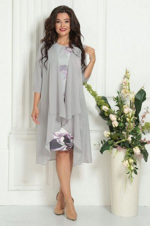 Накидка, платье Solomeya Lux 253A-737