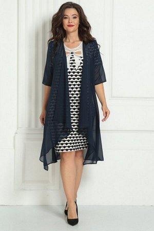Накидка, платье Solomeya Lux 476A-737_2