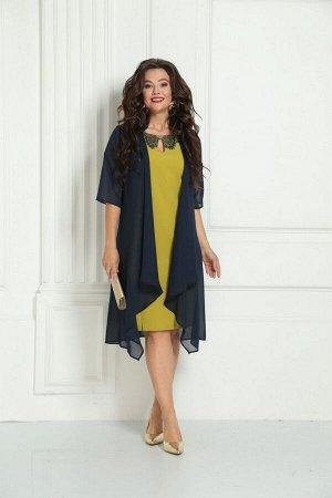 Накидка, платье Solomeya Lux 215А