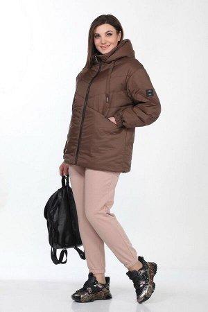 Куртка Lady Secret 6306 шоколад