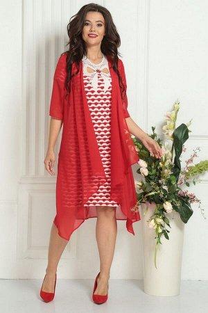 Накидка, платье Solomeya Lux 476A-737