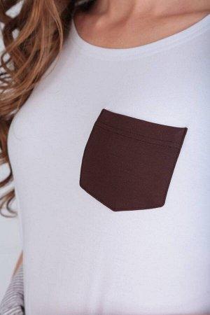 Сарафан, футболка Rishelie 654 /1