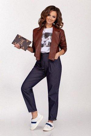 Куртка Dilana VIP 1678/1 коричневый