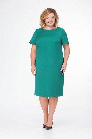 Кардиган, платье Bonna Image 15-125 клетка-зеленая