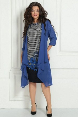 Накидка, платье Solomeya Lux 246А-737