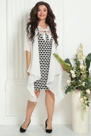 Накидка, платье Solomeya Lux 476А-737_3