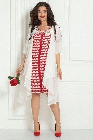 Накидка, платье Solomeya Lux 454А-737