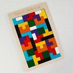 Детская развивающая головоломка «Тетрис» 27Х18Х0,5 см