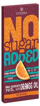 «OZera», горький шоколад No sugar added Dark&Orange, 90 г