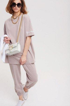 Комплект:  футболка  +  брюки  2503