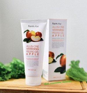 Пилинг гель скатака  с экстрактом яблока  All-In-One Whitening Peeling Gel - Apple