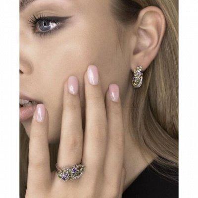 СЕРЕБРО РОССИИ! Огромный ассортимент💍 Лучший подарок 🎁 — Кольца с Полудрагоценными вставками — Ювелирные кольца