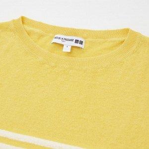 Женский свитер, желтый