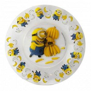 """Десертная тарелка 19,6 см """"Симпатия"""" """"Миньоны"""""""