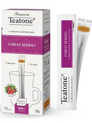 Черный чай Лесные ягоды TEATONE 15стик*1.8г