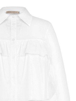 Блуза Rinas.cimento White Main part: 70% Cotton, 26% Polyamide, 4% Elastane