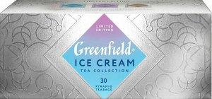 Чай в пирамидках Greenfield Ice Cream Коллекция листового чая, 30 шт