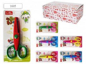 Ножницы детские 13 см. цветные лезвия
