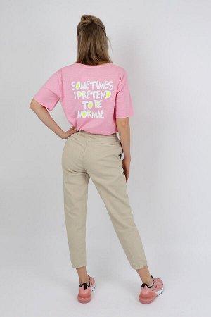 Брюки ДЕВ Страна: Турция Производитель: A-YUGI Материал: 95% хлопок, 5% эластан Пол: ДЕВ Описание товара: Стильные брюки для девочки