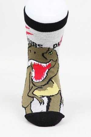 """Носки детские для мальчика """"Динозавр"""""""