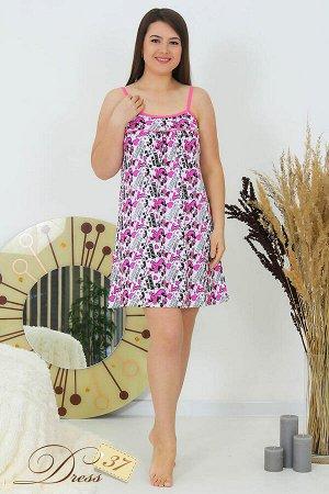 Сорочка женская «Амалия» розовая