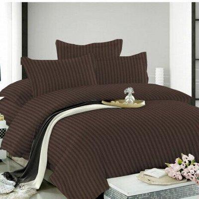 Красивое постельное белье — Кпб страйп-сатин — Постельное белье