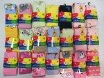 Колготки разноцветные с рисунками для девочек