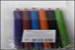 Набор цветных карандашей,круглые, 6 цветов, в пакете. Производство Россия.
