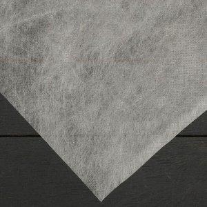 Материал укрывной, плотность 80, УФ, 0,8*10м , белый