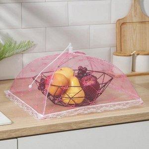 Сетка для продуктов защитная «Квадрат», 35?35 см, цвет МИКС