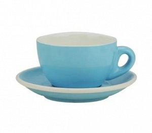 """Посуда. Чашка с блюдцем, латте, 320 мл., """"TIAMO"""", HG0855"""