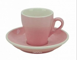 "Посуда. Чашка с блюдцем, капучино, 220 мл., ""TIAMO"", HG0852"