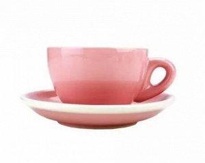 "Посуда. Чашка с блюдцем, эспрессо, 80 мл., ""TIAMO"", HG0858"