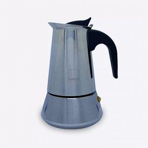 Товары для заваривания кофе и чая. Гейзерная кофеварка INOX, на 4 чашки (200 мл)