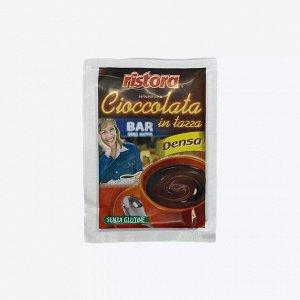 Какао, сиропы, шоколад. Горячий шоколад Ristora Bar «Cioccolata» порционный 25 г, Италия