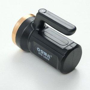 Фонарь ручной аккумуляторный 3 Вт, 2400 мАч, USB, 3 режима
