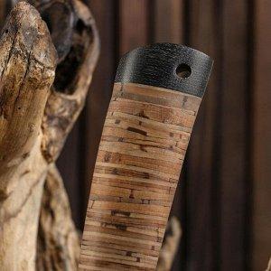 Нож охотничий Н57, ст.У10А-7ХНМ, рукоять текстолит, микропора