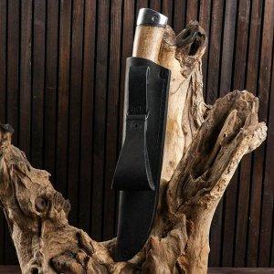 Нож охотничий «Идальго» Н29, ст. ЭИ-107, рукоять дюраль, орех, 25 см 6343926